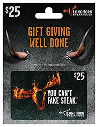 longhorn gift cards longhorn steakhouse 25 gift card gift cards