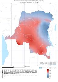 Republic Of Congo Map Endemic Countries U2013 Malaria Atlas Project