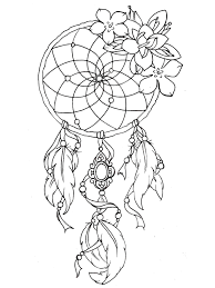 dreamcatcher tattoo designs tattoos coloring pages for adults