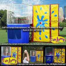 dunk tank for sale dunk tank rental minnesota mn jumps entertainment inc
