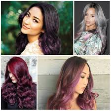 gorgeous purple highlights for all hair colors u2013 best hair color