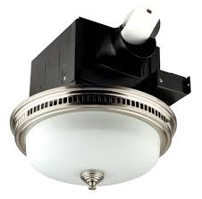 Bath Fan With Light 110cfm Decorative Fan With Light With Bn Finish Maxfans