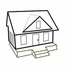 drawing a house 1 clipart etc drawing cartoon houses basic house sketch white house