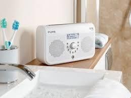 radio im badezimmer one elite tragbares stereo radio dab dab ukw tuner uhr