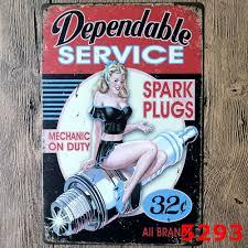 Vintage Home Decor Wholesale Auto Repair Shop