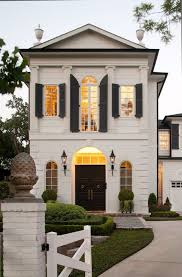 Colonial Style Windows Inspiration Inspiration From My Pinterest French Exterior Black Shutters