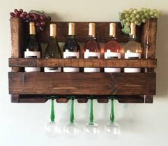 wall mounted wine glass rack home painting ideas