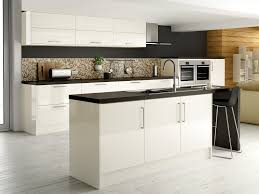White High Gloss Kitchen Cabinets Maida Gloss Ivory From Our Definitive Kitchens Range Comes With A