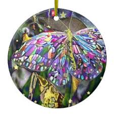 butterfly tree ornaments keepsake ornaments zazzle