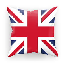 British Flag Pillow Union Jack Cushion Cover Armed With Honour