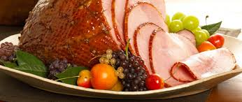 sweet slice ham with brown sugar spice glaze recipe sliced