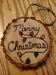Wood Projects For Christmas Presents by Best 25 Wood Ornaments Ideas On Pinterest Diy Christmas