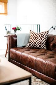 Leather Furniture Best 25 Leather Sofa Decor Ideas On Pinterest Leather Couches