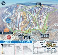 Mt Snow Trail Map Snocountry Snow Reports Pa Camelback