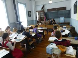 one room program at the old depot museum franklin county
