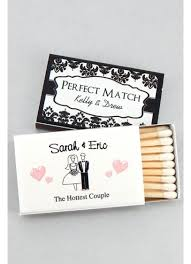 wedding matches personalized classic wedding matches set of 50 david s bridal