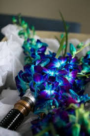 lightsaber bouquet walt disney star wars loving bride