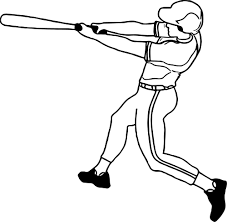 baseball kick ball playing baseball coloring page wecoloringpage