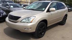 2008 lexus rx 350 base reviews pre owned gold 2004 lexus rx 330 suv awd in depth review stony