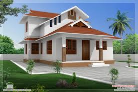 sqfeet sloping roof villa design kerala home design and floor