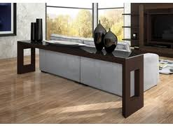 Low Console Table Miami And Aventura Contemporary And Modern Furniture Consoles