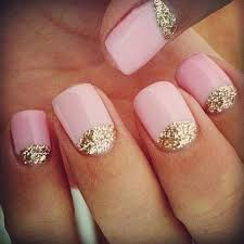easy nail art glitter glitter at your cuticles 23 super easy nail art designs for