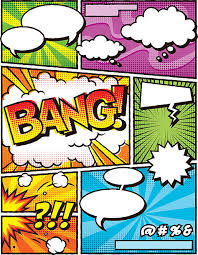 royalty free comic book templates clip art vector images