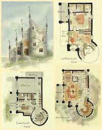 baby nursery tiny castle house plans real fairytale cottage