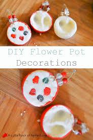 Decorating Clay Pots Kids Diy Clay Flower Pot Decorations Kid Craft