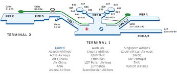 frankfurt international fra airport map united airlines