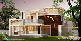 contemporary style home architecture 3000 sq ft kerala home