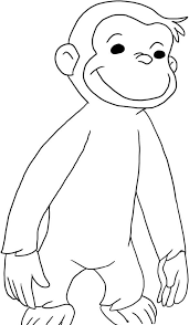 curious george coloring pages to print 504940