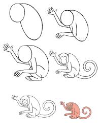 aprender a dibujar fácilmente un mono easly learn to draw a