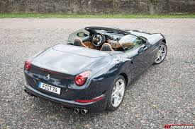 Ferrari California Back - 2016 ferrari california t review gtspirit