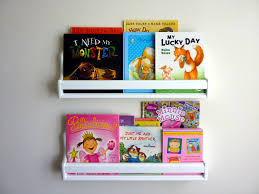 bookshelves for kids wall mounted bookshelves kids with colors