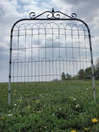 metal garden gates home outdoor decoration