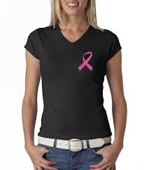 Breast Cancer Flags Amazon Com Breast Cancer Awareness Ladies Shirt Pink Ribbon