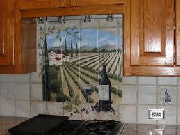 painting ceramic tile backsplash