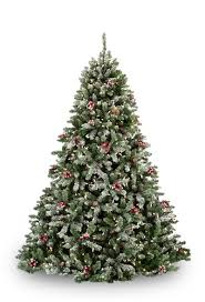 flocked tree flocked hawthorne prelit tree christmas lights etc