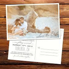 postcard wedding invitations templates simple postcard wedding invitation card with photo