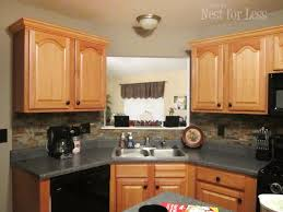 Mini Makeover Crown Molding On My Kitchen Cabinets How To Nest - Kitchen cabinets moulding