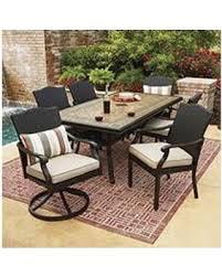 Heritage Patio Furniture Big Deal On Member U0027s Mark Heritage Dining Set With Sunbrella