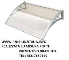 pensilina tettoia in policarbonato plexiglass pensilina tettoia in policarbonato plexiglas a mantova kijiji