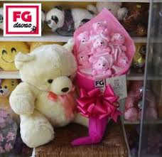 bears delivery pink bouquet and large flowers gifts delivery 0998 579