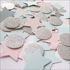 pink and silver baby shower shop gender reveal party baby shower decoration on wanelo
