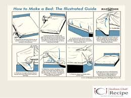 bed making bed making procedure by indianchefrecipe www indianchefrecipe com