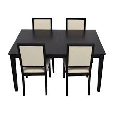 Raymour And Flanigan Dining Room Sets Chair Astonishing Vintage Dining Table With Four Chairs From