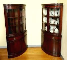 black corner china cabinet corner china cabinets and hutches sideboards corner china cabinets