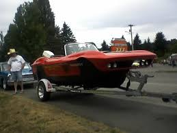 corvette boat what the hell midyear made into a boat corvetteforum