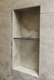 hall bathroom with custom tile shower